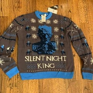 🎄NWT Game of Thrones Silent Night King Sweater🎄